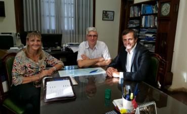 El intendente se reunió con el decano de la Facultad de Ingeniería de la UNLP