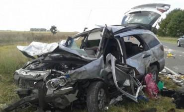 Loma Negra: Son cinco las víctimas fatales por un accidente en la Ruta 51