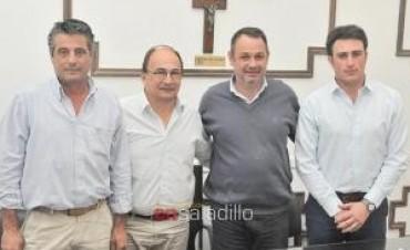 Saladillo: Se reunieron intendentes de la 'Zona de Crecimiento Común'