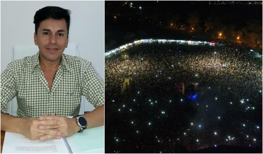 Jorge Fernández: 'Más de 30 mil personas y no hubo ningún tipo de incidentes en Me EnCanta Bolívar'