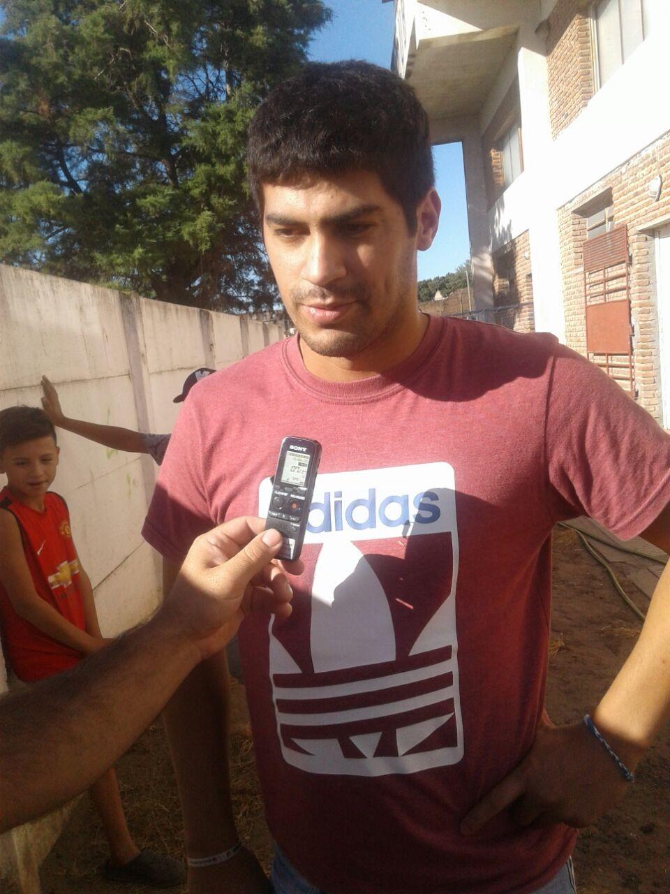 Cristian Godoy: 'Quiero volver a Bolívar y jugar en Independiente'
