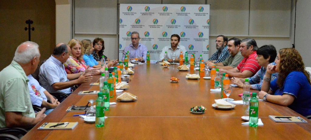 El Consejo de administración, recibió a los concejales de 'Cambiemos'