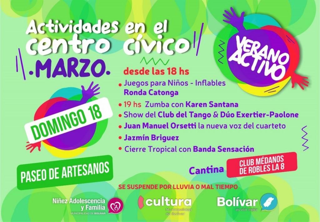 Verano Activo sigue en el Centro cívico