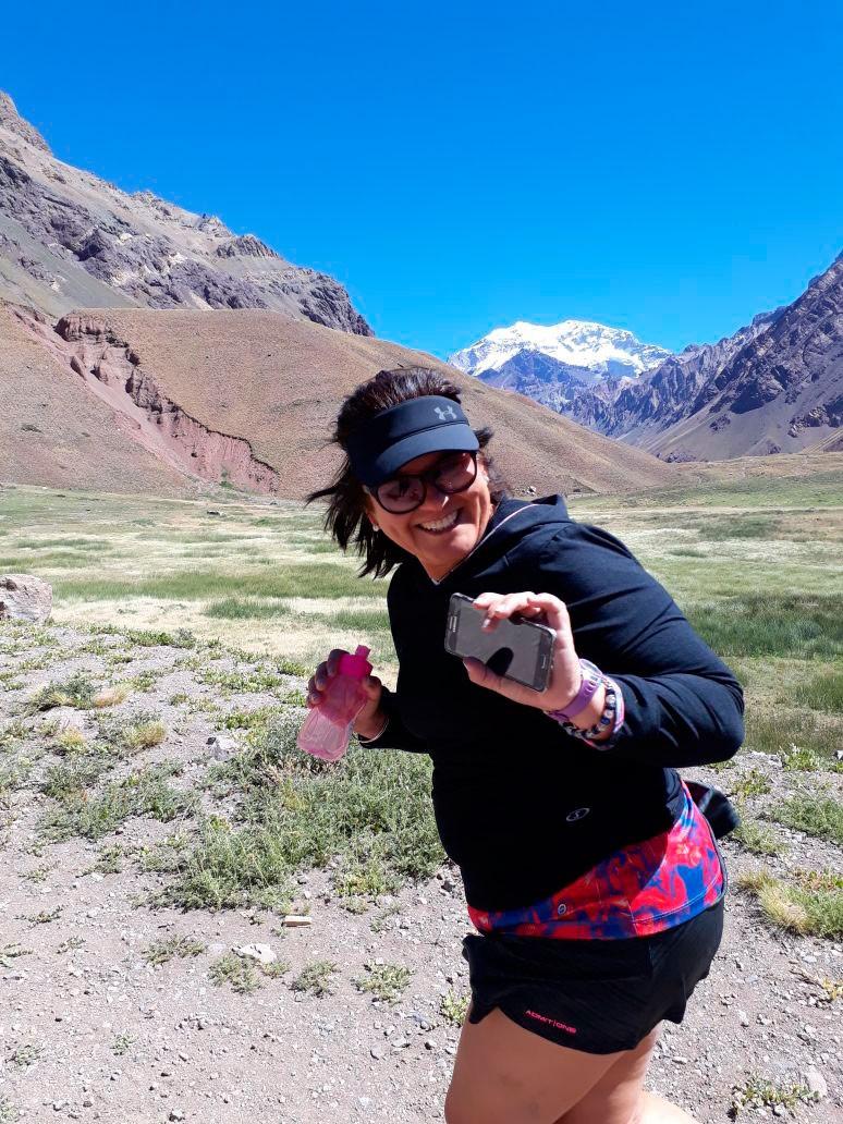 Betty Aragón: 'Disfruto mucho las carreras de aventura'