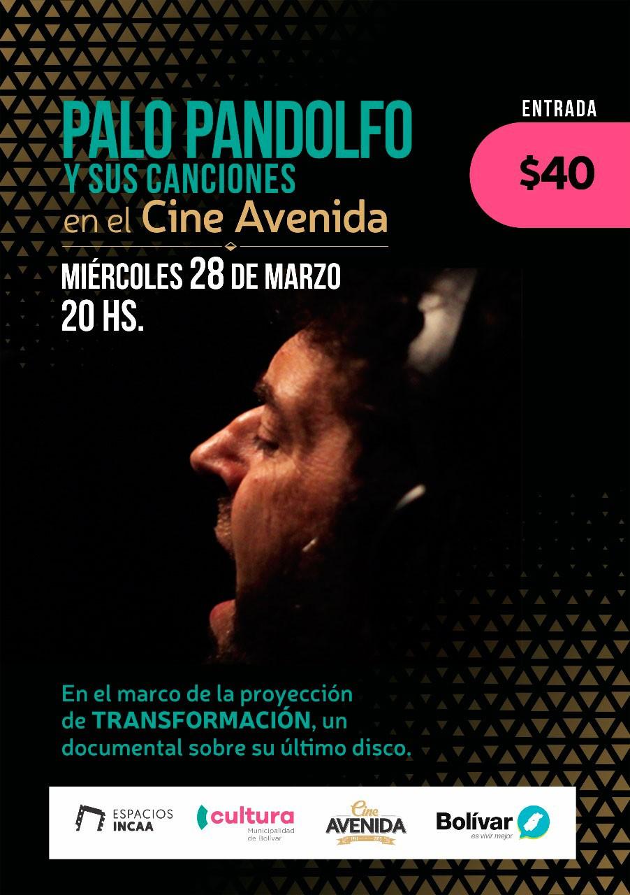 Palo Pandolfo estará acompañando el documental ´Transformación'