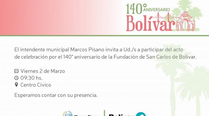 140° aniversario de Bolívar: Hoy habrá feriado administrativo