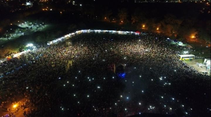 Luciano Pereyra cerró el Me EnCanta Bolívar 2018 con récord de público