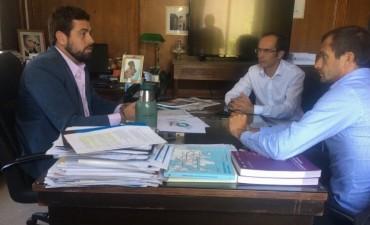 Pisano y Bucca realizaron gestiones en el ministerio del interior