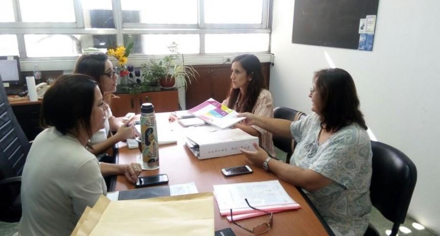 El Área de Paradeportes se reunió con autoridades provinciales de Discapacidad