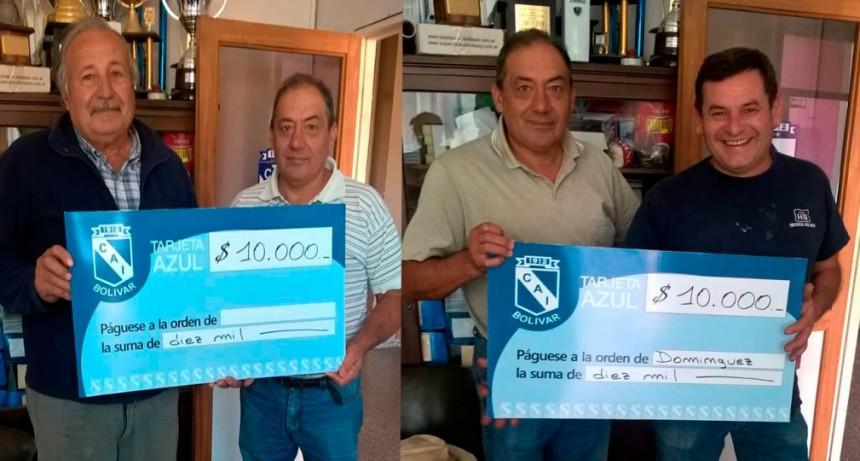 Se entregaron los premios de la Tarjeta Azul
