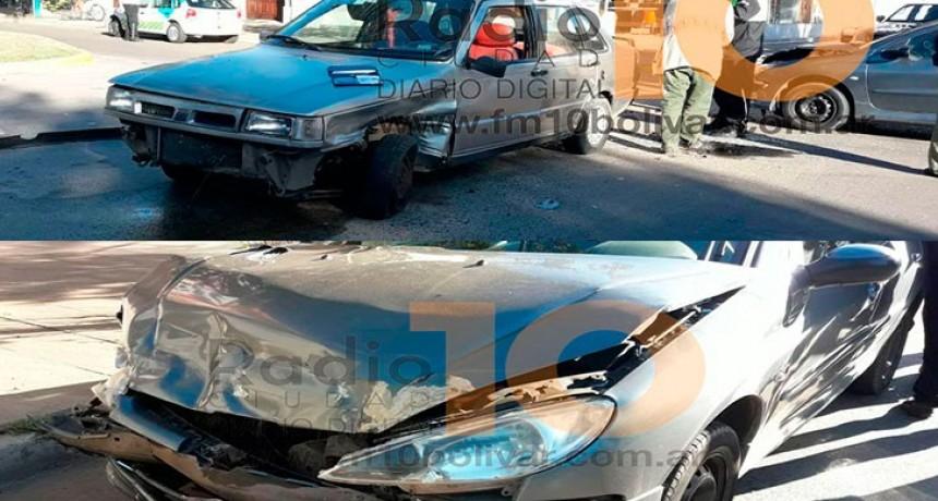 Leve impacto sin heridos en Belgrano y Sarmiento