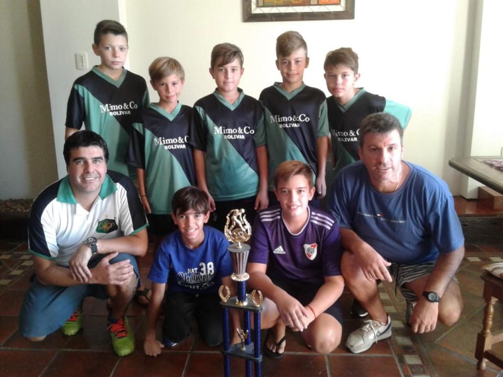 Baby Futbol: Pringles se consagró como bicampeón en categoría 2008