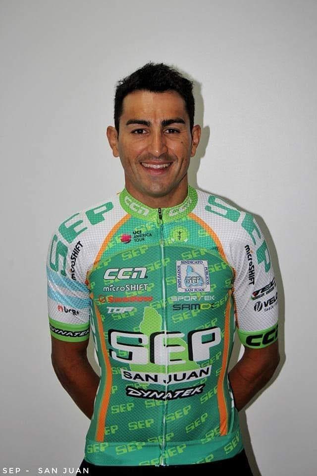 Juan Pablo Dotti culminó cuarto en la general de la Vuelta a Chiloé que ganó Oscar Sevilla