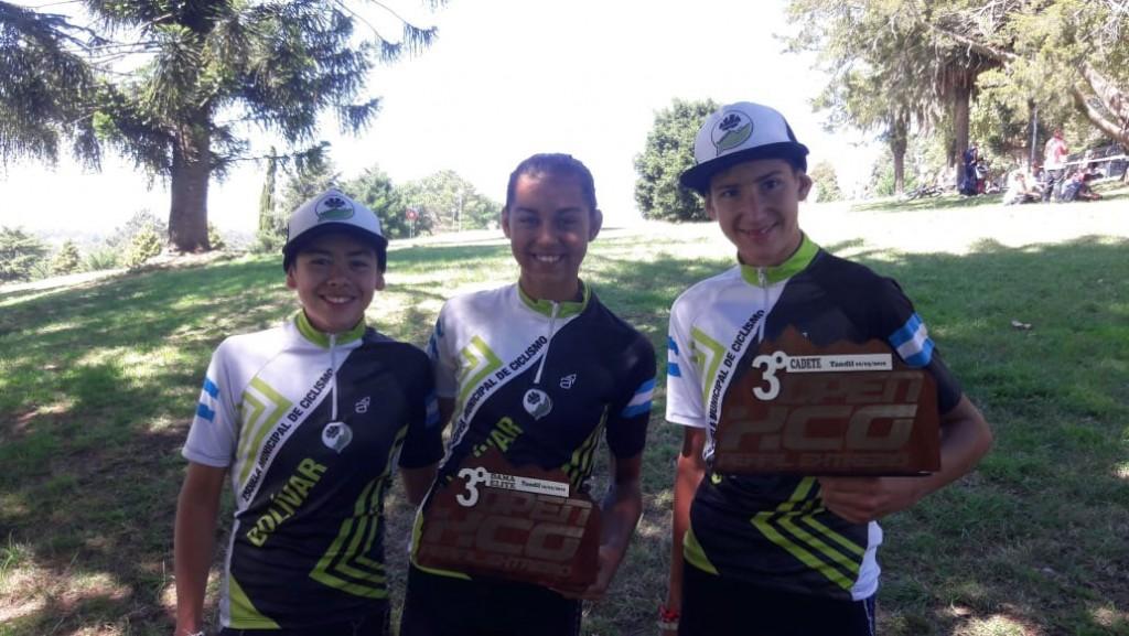 La Escuela Municipal de Ciclismo participó de diferentes competencias