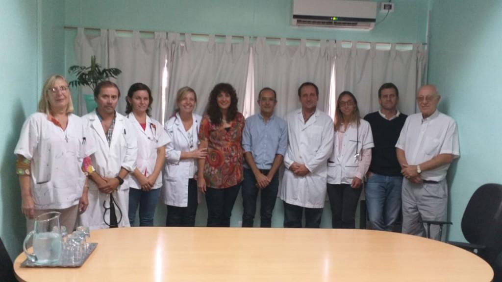 Marcos Pisano: 'Estamos contentos de tener la posibilidad de empoderar el servicio de pediatría'