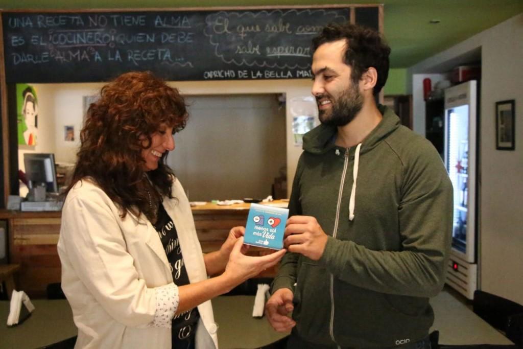 La Secretaría de Salud se lleva adelante la Campaña de Concientización sobre el Consumo de Sal