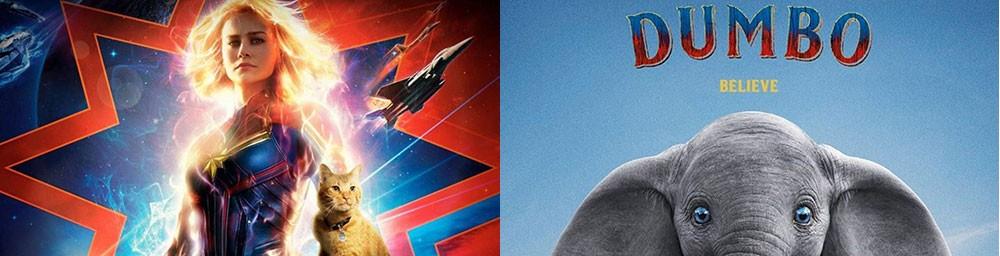 Cine Avenida: Última función de Capitana Marvel en 3D y estreno simultaneo de Dumbo