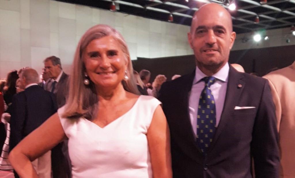 El Vicecónsul Walter Daloia llevo el Saludo de los españoles De Bolívar al Rey