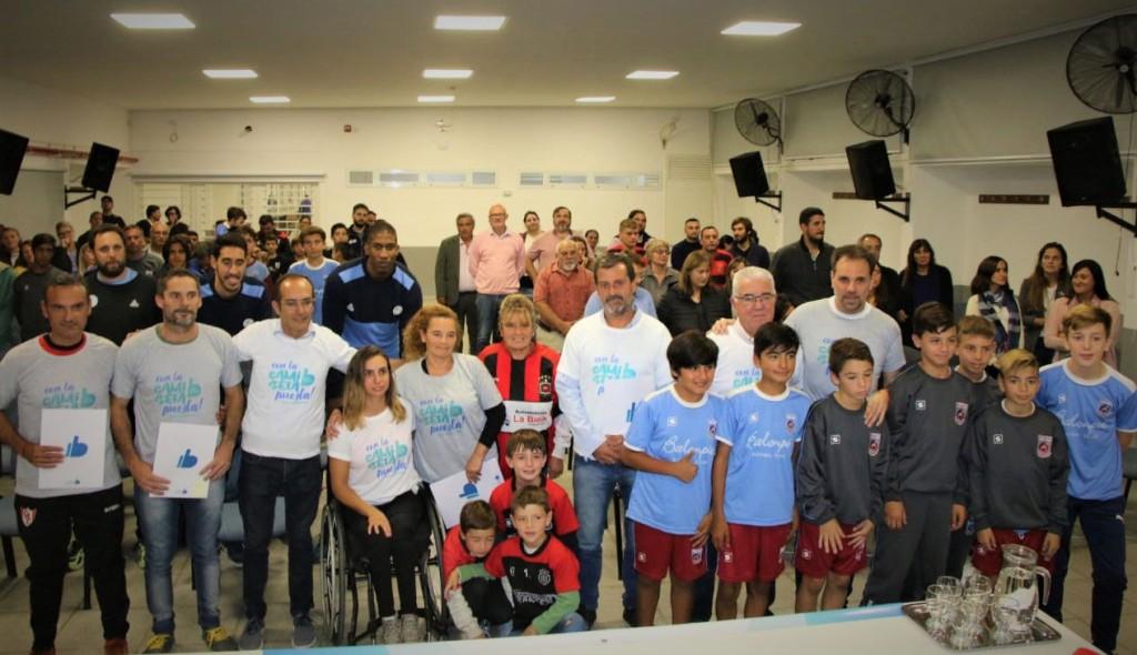 Marcos Pisano garantizó el pago de servicios para instituciones deportivas
