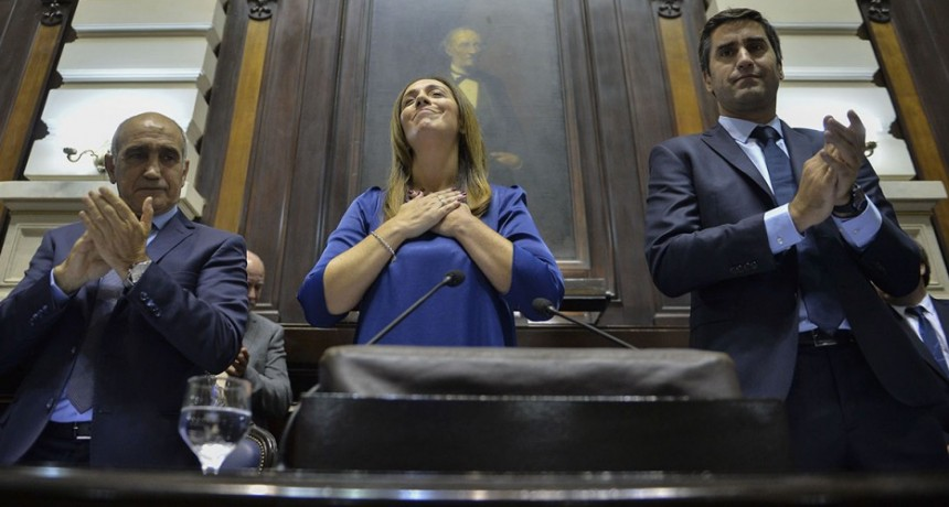 Vidal inauguró las sesiones ordinarias en la Legislatura bonaerense