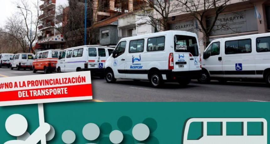 Informe de Prensa: Personas con discapacidad se quedaron sin transporte
