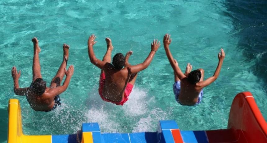 Solo por este fin de semana el Parque Acuático Municipal funcionara en horario especial