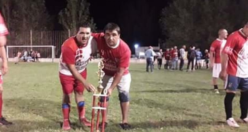 Casariego se coronó campeón en el Torneo Senior Mayores de 48 años
