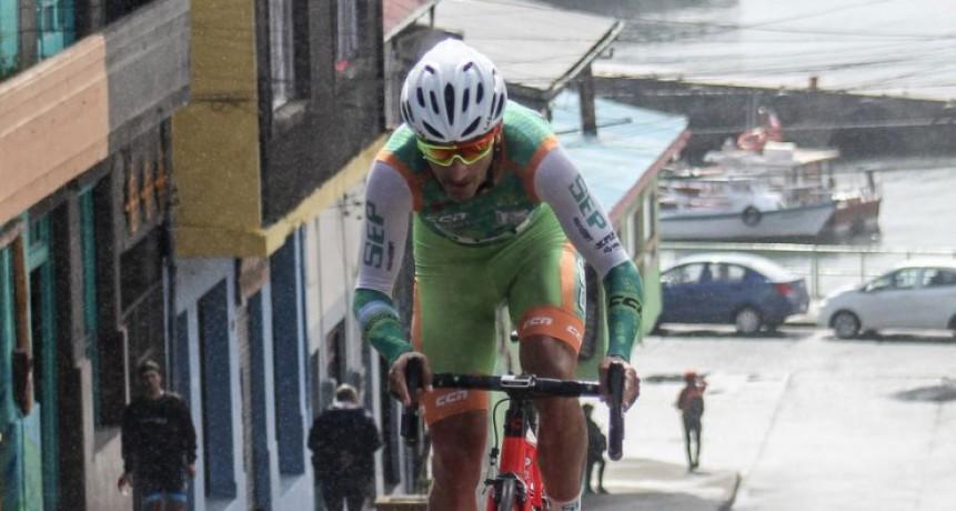 Ciclismo: Juan Pablo Dotti quedo 4° en el prólogo de la Vuelta Chiloe y ya piensa en la 1° etapa de la carrera más austral del planeta