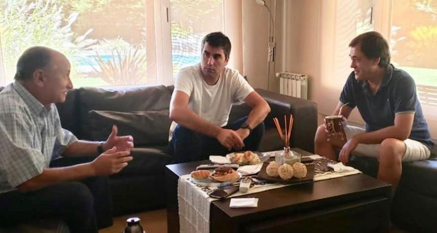 Mosca se reunió con Salamanco y Criado