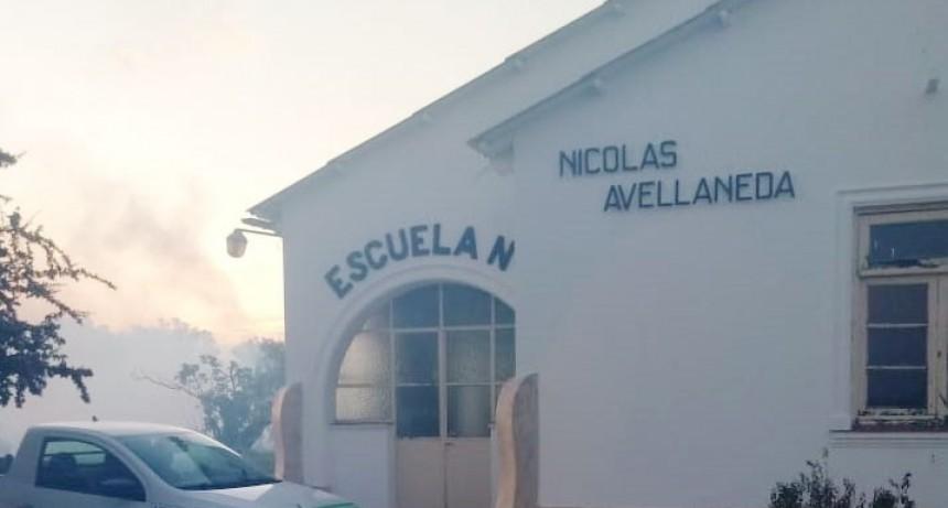 El municipio llevó a cabo una campaña de pulverización en escuelas rurales