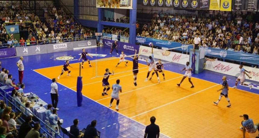 LVA: Bolívar Voley recibirá este jueves y sábado a River en el inicio de la serie de los 4º de final