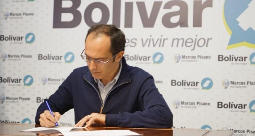 Pisano renovó el pedido para que se declare a Bolívar como 'Zona Fría'