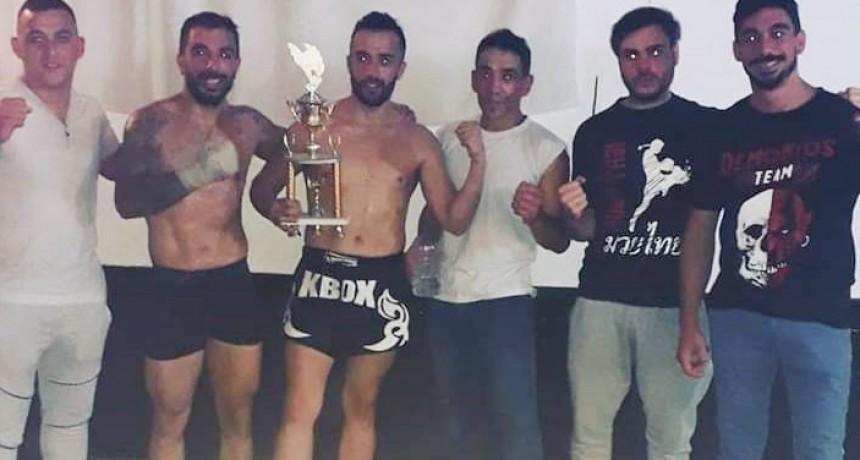 Kick Boxing: Santiago González ganó por nocaut en Junín