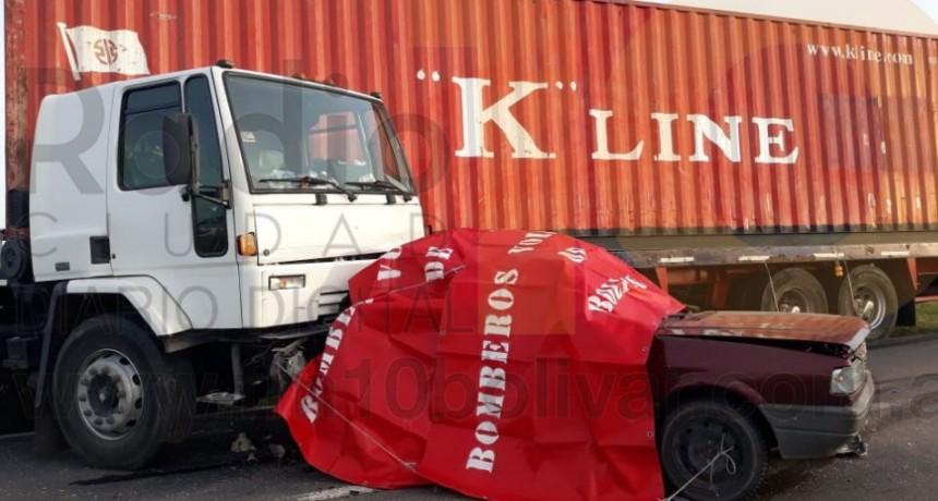 Grave accidente en Ruta 205 km 316; una mujer fallecida
