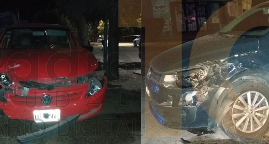 Violento impacto en Avenida Venezuela y Calle Rodríguez Peña