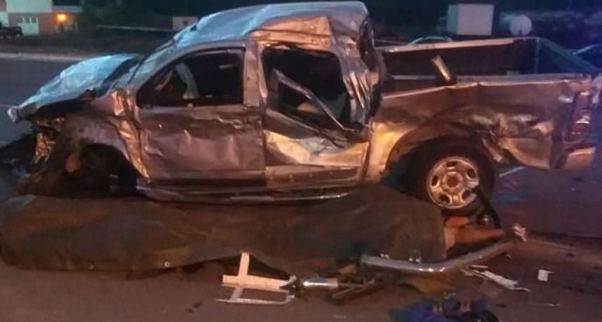 Nueve muertos en un violento accidente en Ruta 51
