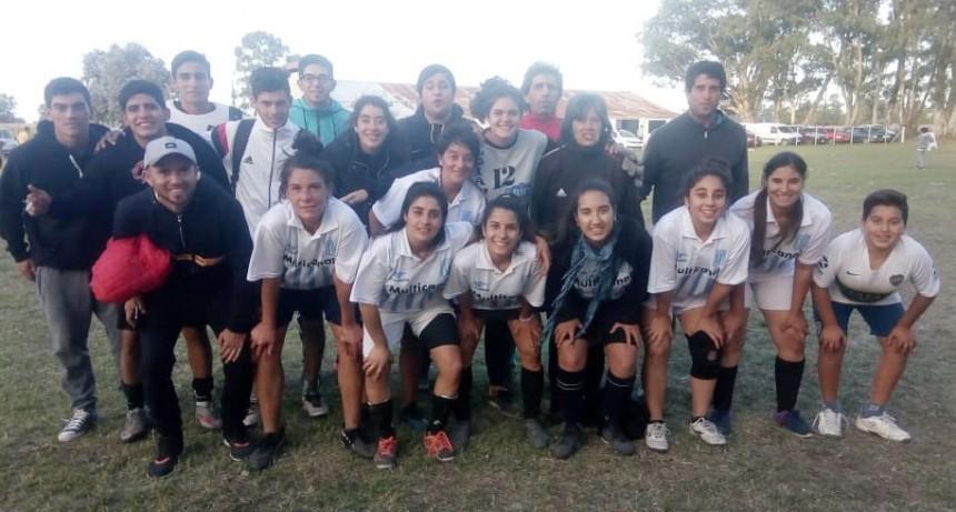 Futbol femenino: La Vieja Esquina campeón del reducido de Marsiglio