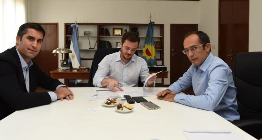 Pisano y Mosca anunciaron el SAME en Bolívar