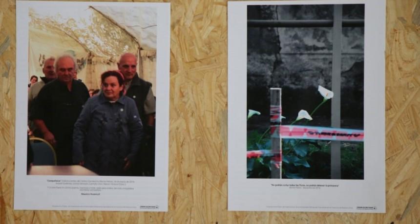 Muestra fotográfica sobre Monte Pelloni en el Cine Avenida