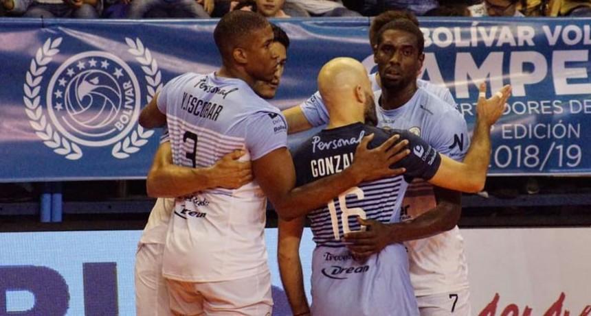Arranque triunfal para Bolívar Vóley en las semifinales de la LVA