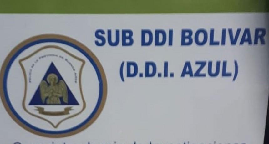 Parte de Prensa: SUB DDI Bolívar; allanamientos, recuperación y detención