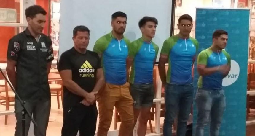 Se presentó oficialmente el equipo de ciclismo Municipalidad de Bolívar