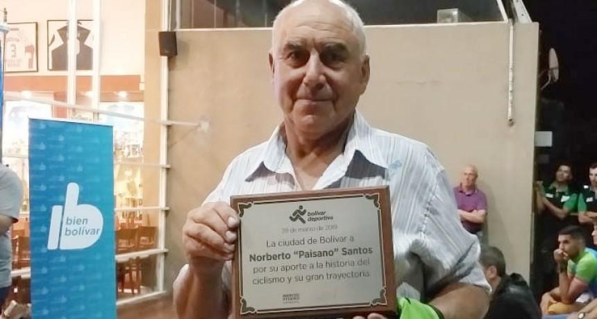 Norberto Santos: 'Yo me sacrifique mucho por el ciclismo, pero es lo que te hace llegar lejos'