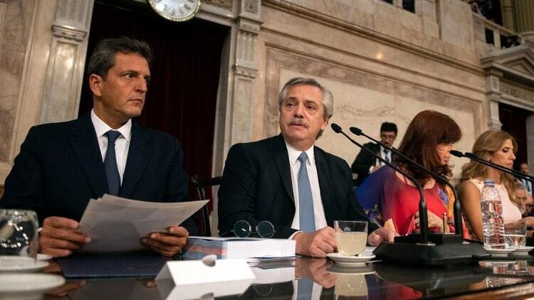 El presidente Alberto Fernández encabezó la apertura del periodo 138 de sesiones ordinarias del Congreso de la Nación