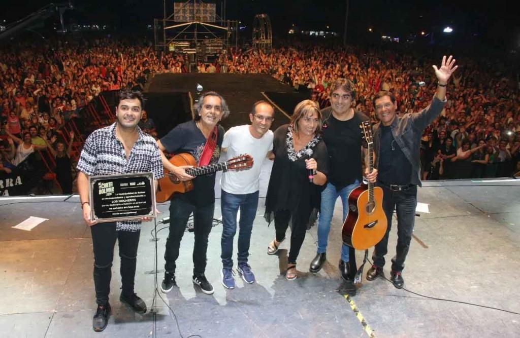 Los Nocheros brillaron ante 25 mil personas en el cierre de Me encanta Bolívar 2020