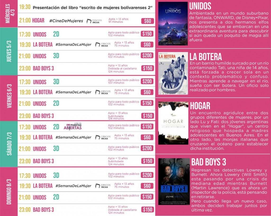 Con el Ciclo Cine de Mujeres comienza la semana del Cine Avenida