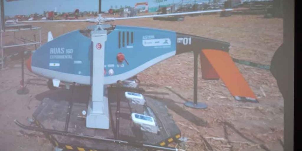 Expoagro 2020 Día 2; fue furor la presentación de un helicóptero autónomo