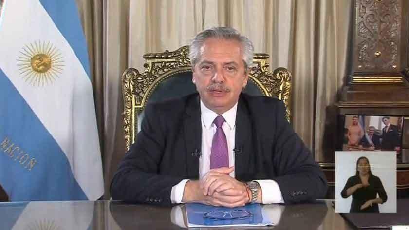 En cadena nacional: Fernández llamó a demostrar unidad al hablar sobre el coronavirus