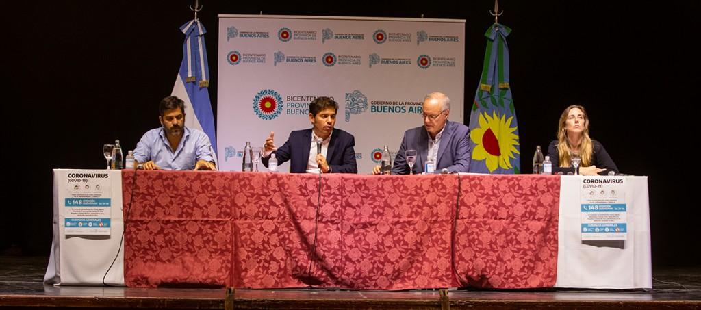 Kicillof con intendentes: 'Tenemos que dar el ejemplo de solidaridad y responsabilidad'