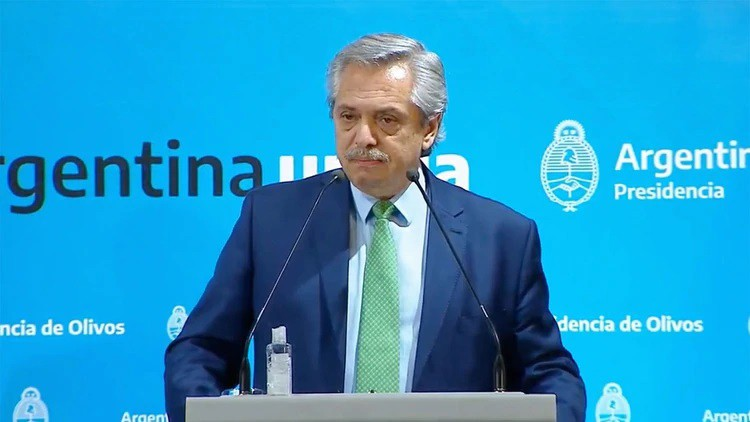 Alberto Fernández anunció el Aislamiento Social Obligatorio (audio)
